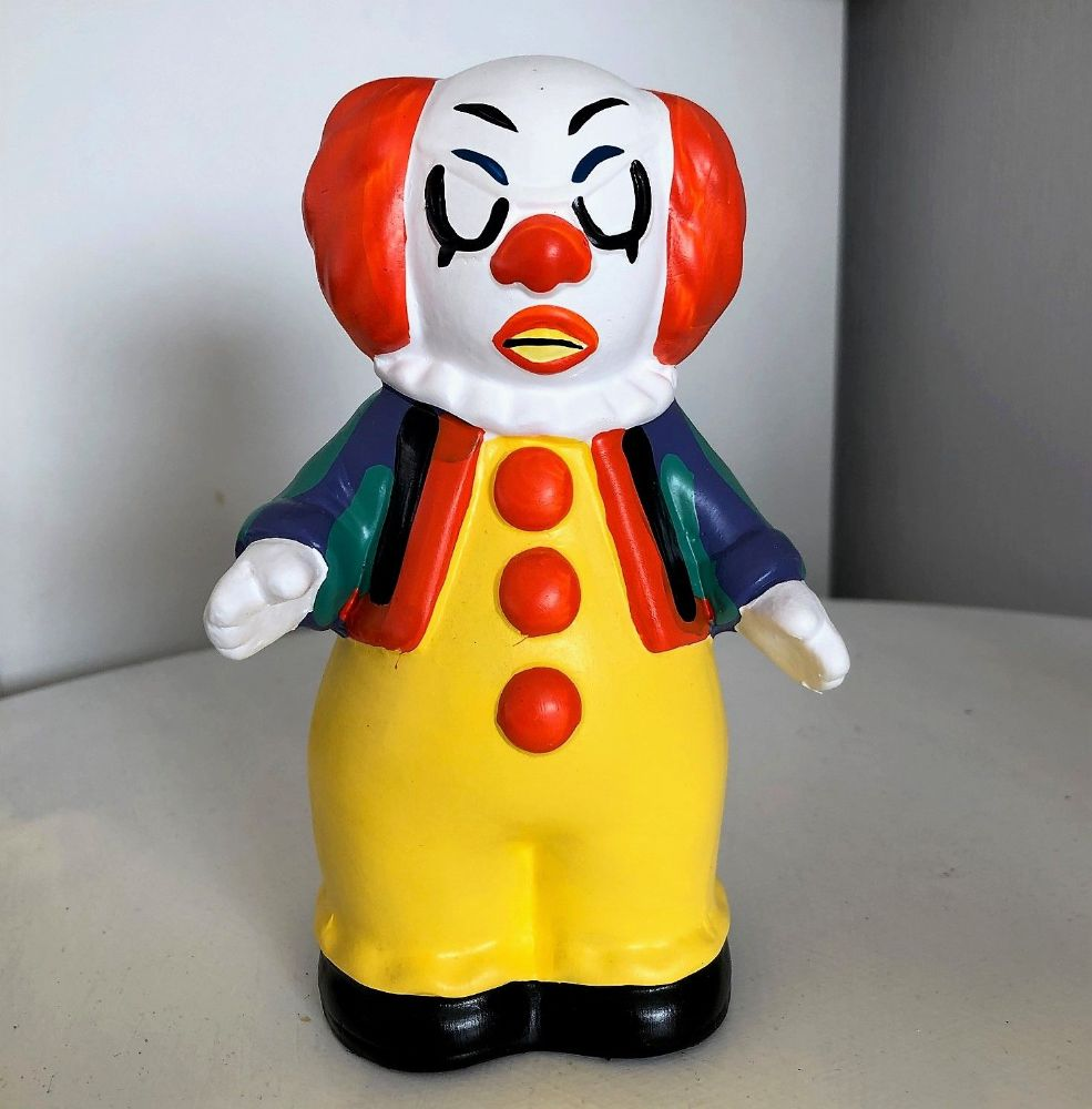 Creepy Clown Scary Horror Movie Money Box D